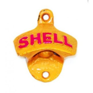 Cast Iron Shell Bottle Opener