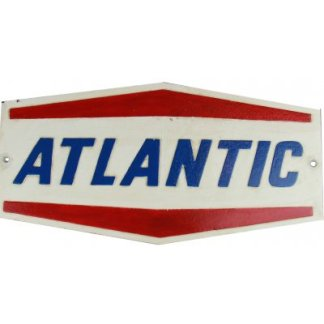 Cast Iron Atlantic Sign
