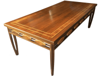 Dario Zoureff Walnut Coffee Table