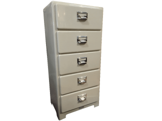 Dulton 5 drawer metal Chest