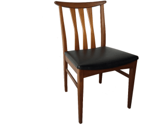 English Afrormosia Dining Chairs