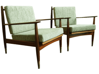 Pair of Saba Armchairs