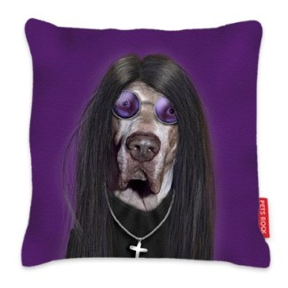 Pets Rock Metal Cushion