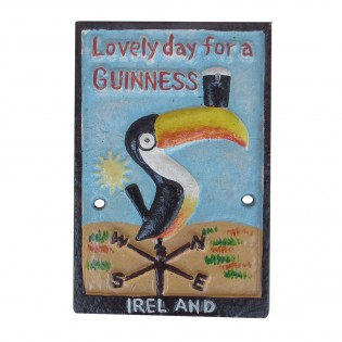Cast Iron Guinness Bird Sign