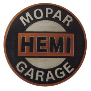 Cast Iron Mopar Hemi Garage Sign