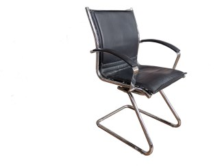 Leather Cantilever Chair