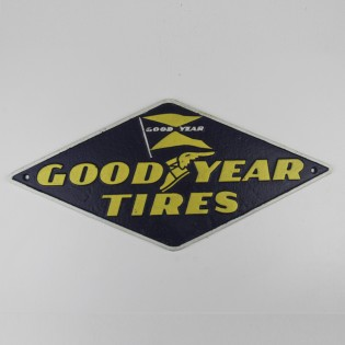Cast Iron Goodyear Sign