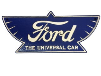 Cast Iron Ford Universal Sign