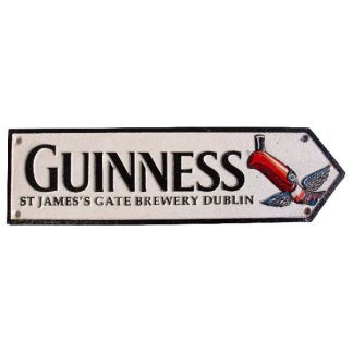 Cast Iron Guinness Toucan Sign