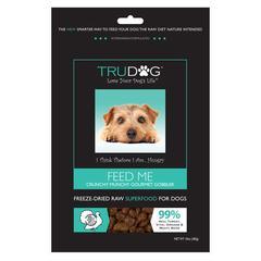bag of trudog dog food