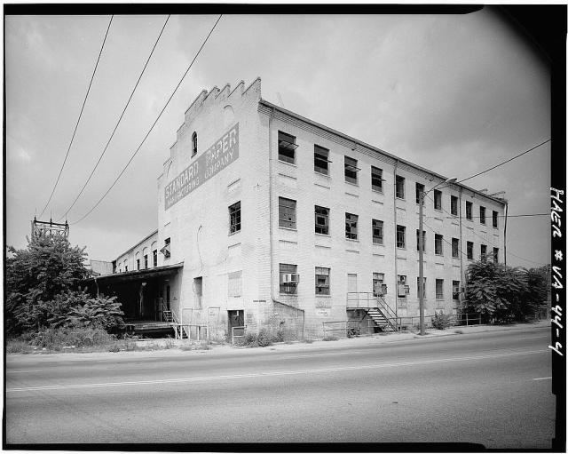 Courtesy of the Library of Congress, this is the Manchester Cotton & Woolen Manufacturing Company as of 1986