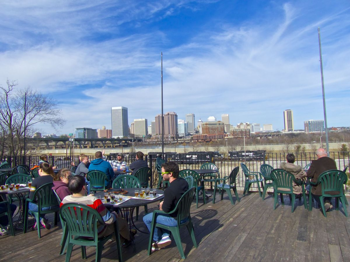 Legend Brewing's Patio View Living on Borrowed Time?