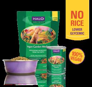 Halo Vegan Garden Medley - Best Vegetarian Dog Food 2017 Reviews
