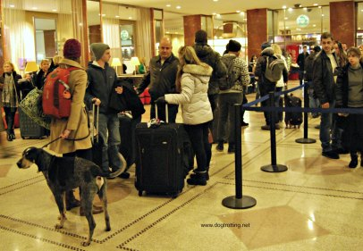 Lobby of the Pennsylvania Hotel NYC