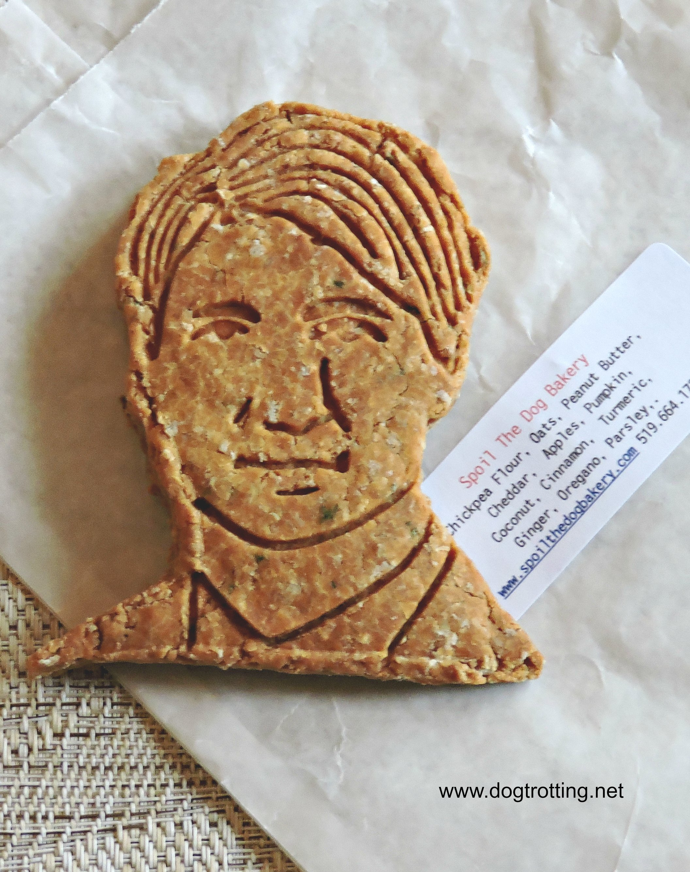 Justin Trudeau dog cookie