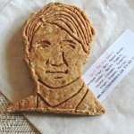 Justin Trudeau dog cookie