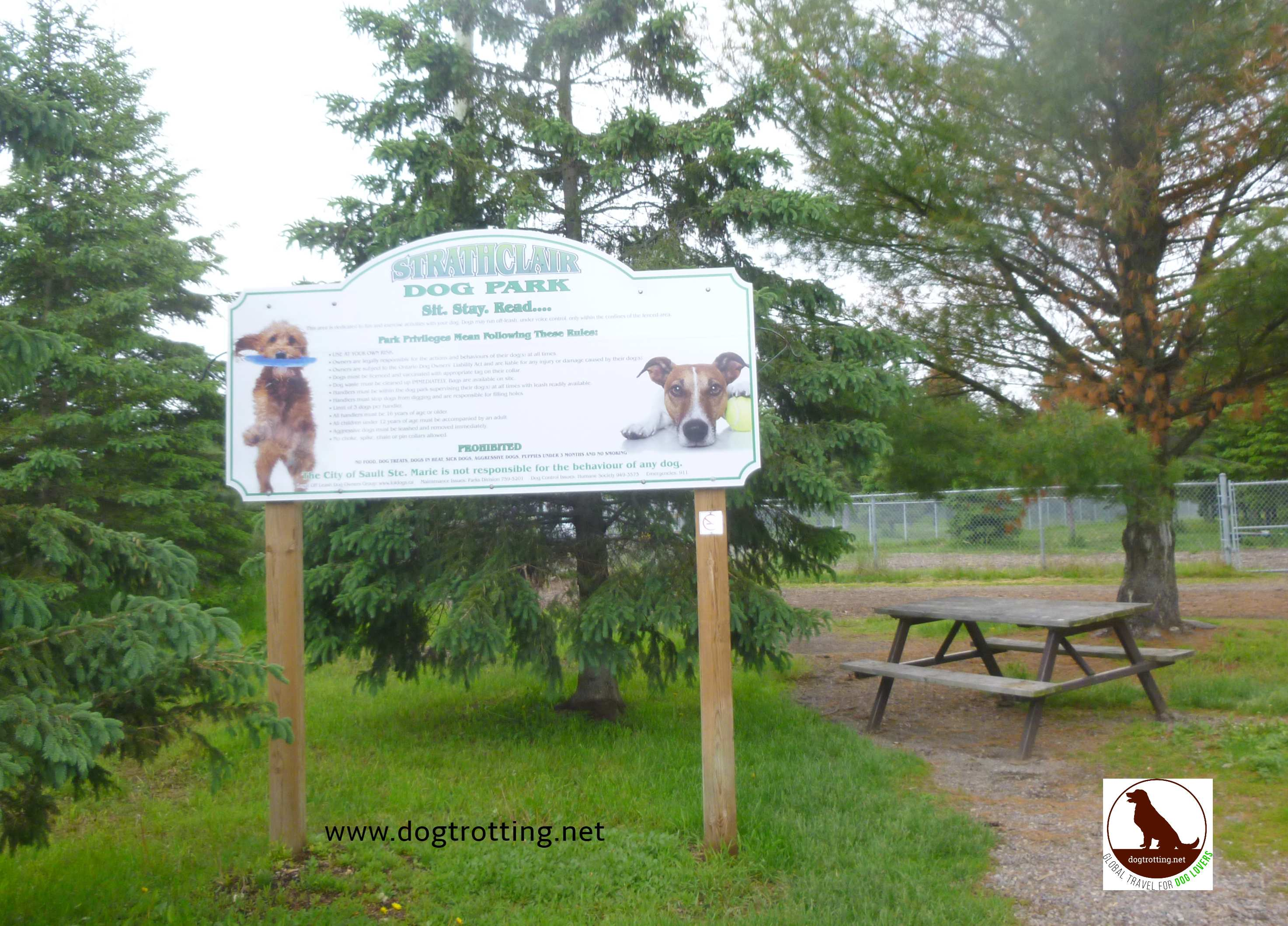 dogpark in Sault Ste. Marie, Ontario