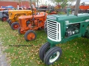antique tractors and farm equipment