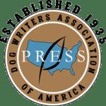 logo for dog writers association