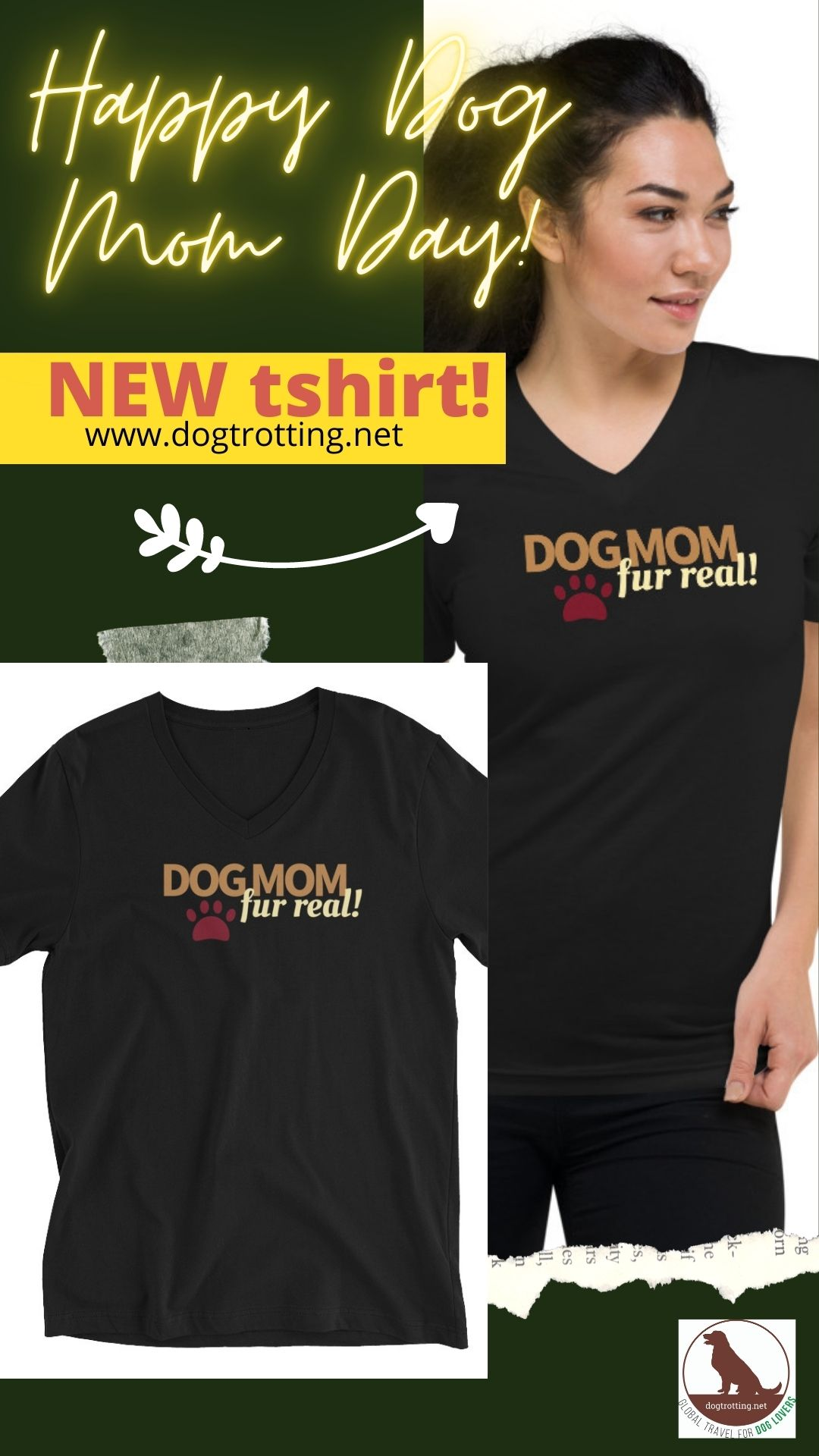 Dog Mom fur real… Happy Dog Mom Day!