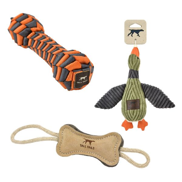 dog toys from Tall Tails