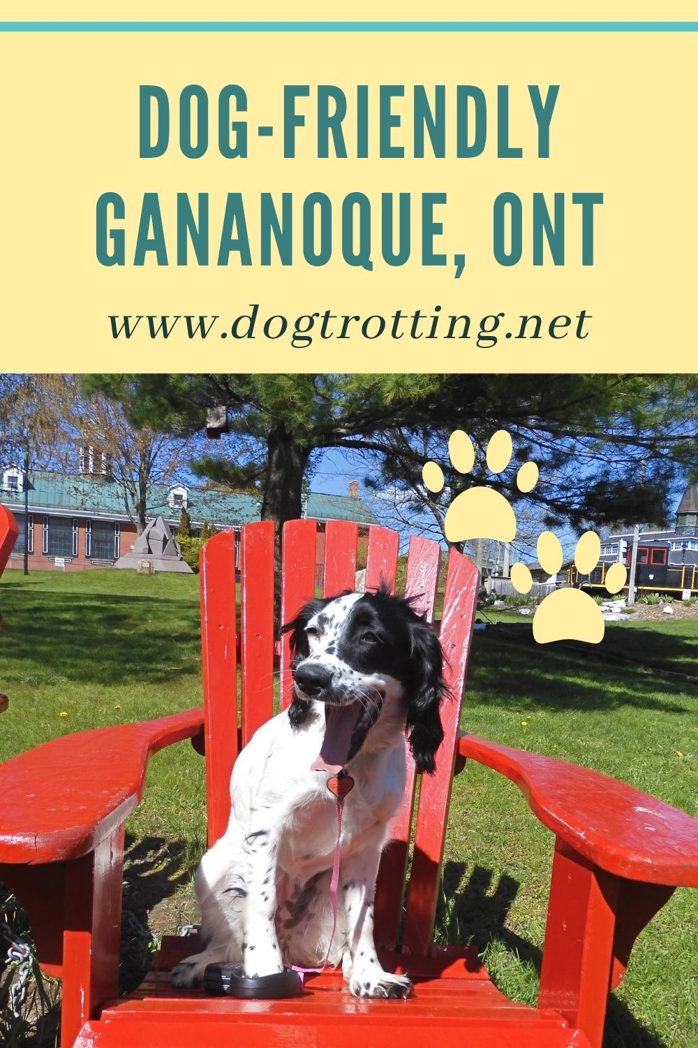 Pet-friendly Gananoque, Ontario: the gateway to the 1000 Islands with your dog