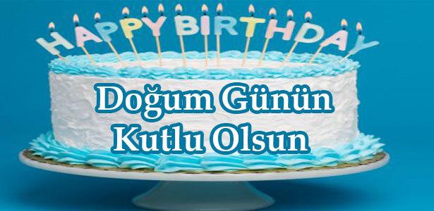 doğum günü mesajı pastalı
