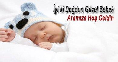 yeni doğan bebek mesaj