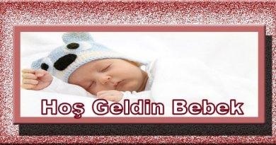 hoşgeldin bebek yazıları