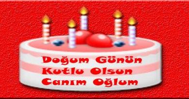 oğluma doğum günü mesajı resimli facebook