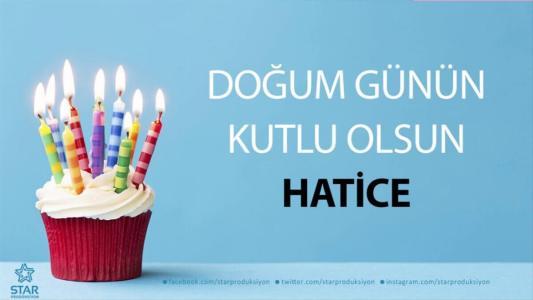 hatice isimli doğum günü mesajı
