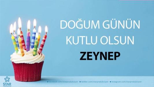 zeynep isimli doğum günü mesajı
