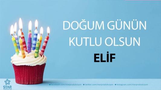 elif isimli doğum günü mesajı