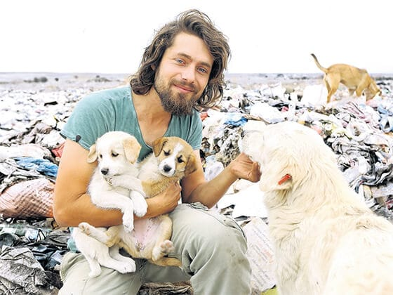 man who dropped out of college to look after 500+ animals