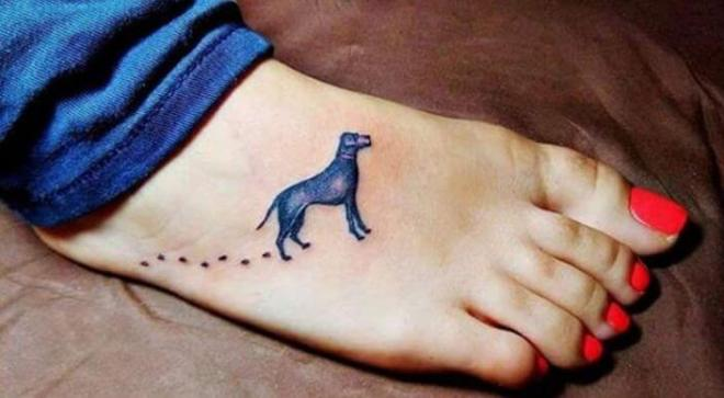 dog tattoo idea