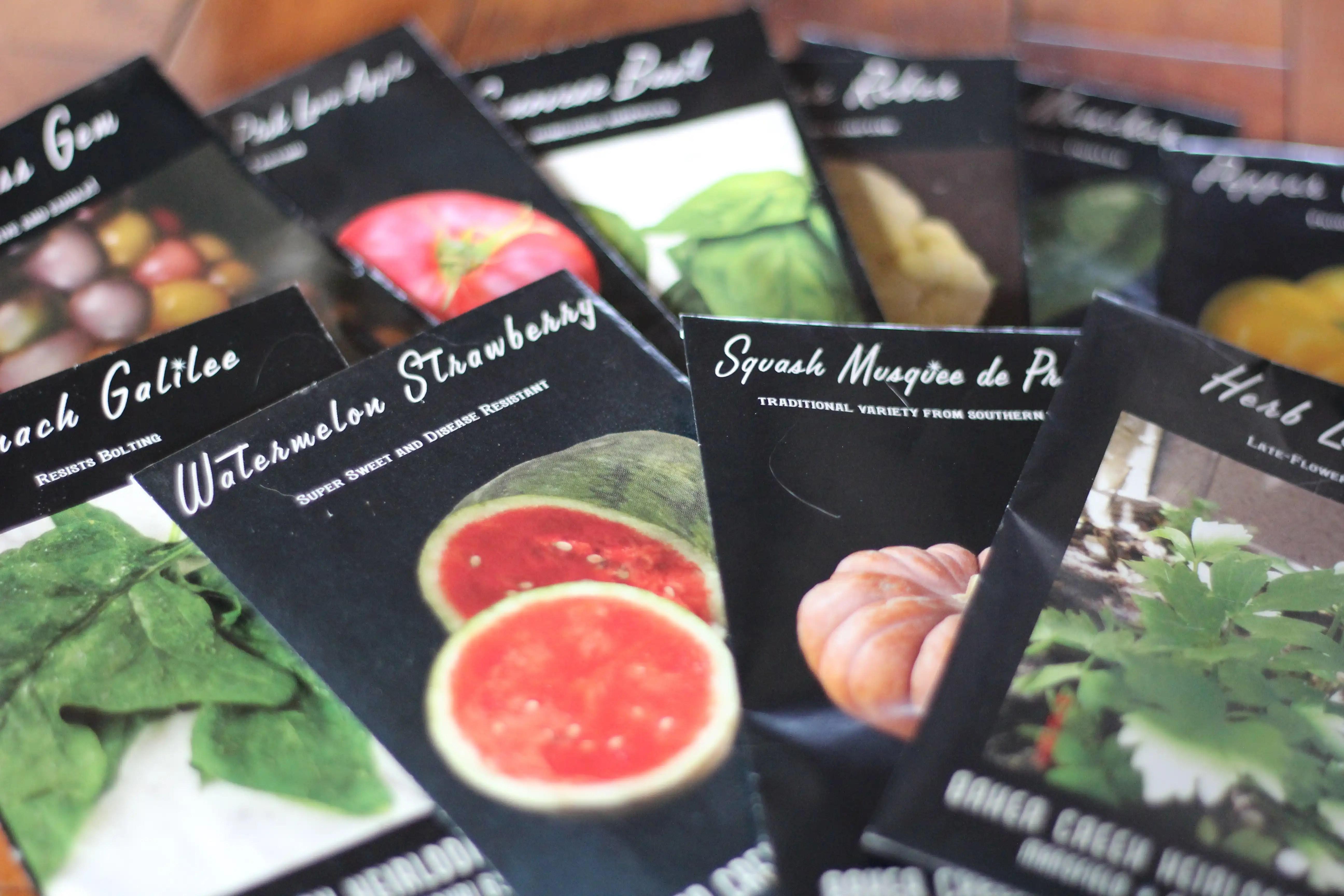 Giveaway - Baker Creek Seeds