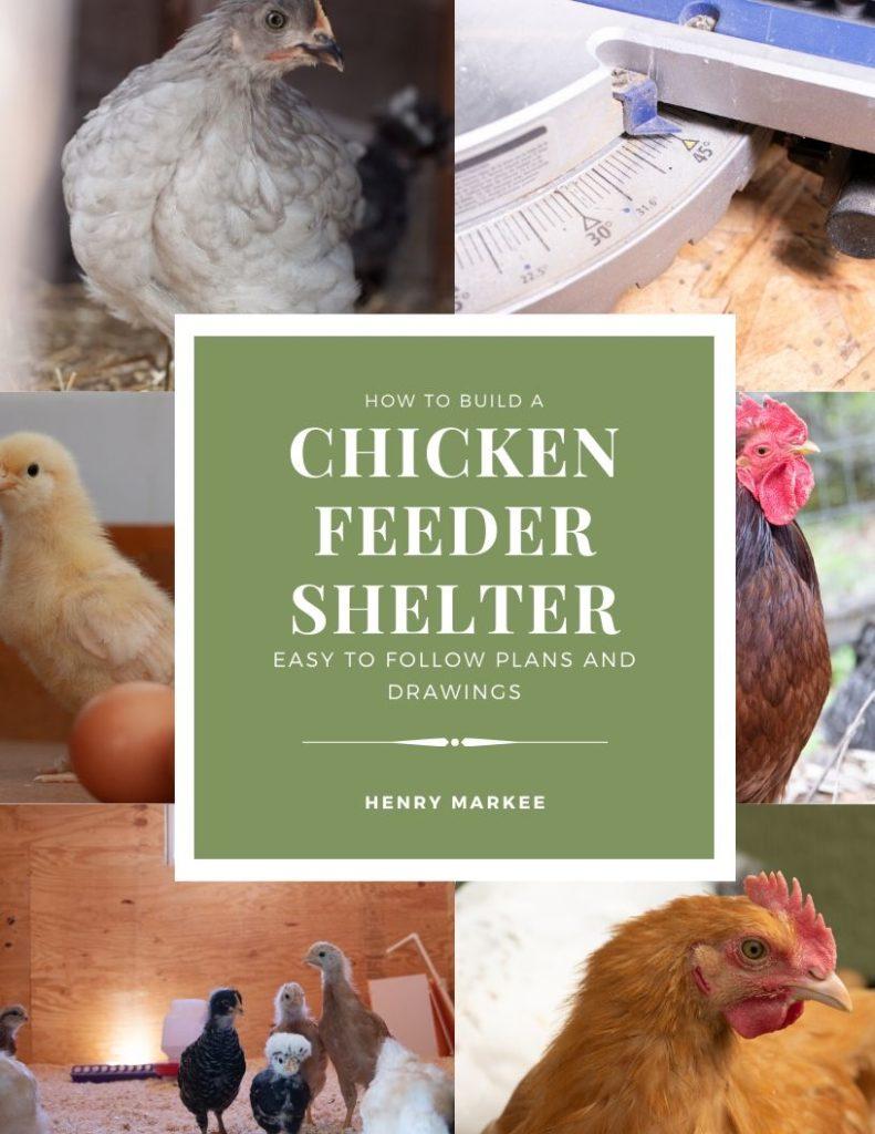 Chicken Feeder Shelter Ebook