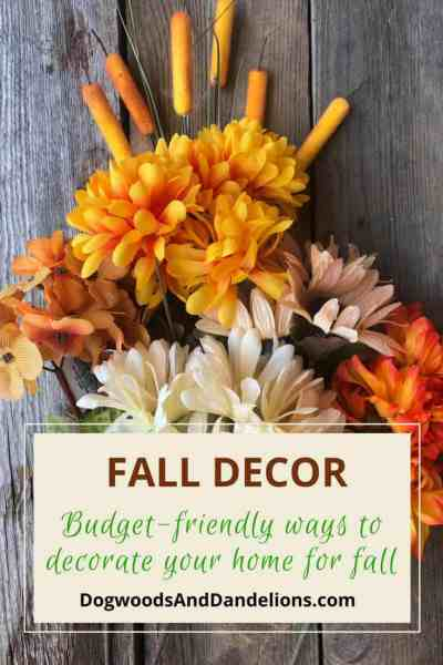 Fall Decor from the dollar store