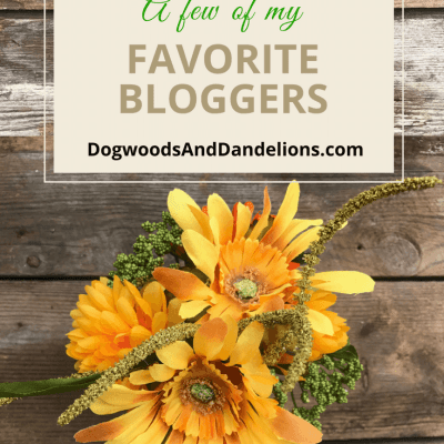 A Few of My Favorite Bloggers