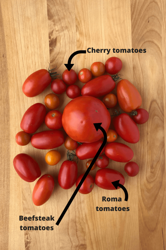 types of tomatoes | freezing tomatoes | how to freeze tomatoes
