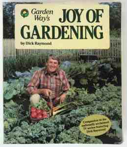 Joy of Gardening by Dick Raymond | favorite gardening books