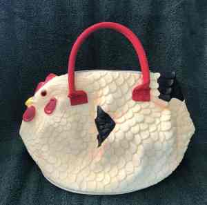 A hen bag is a cute gift for the crazy chicken lady you know.