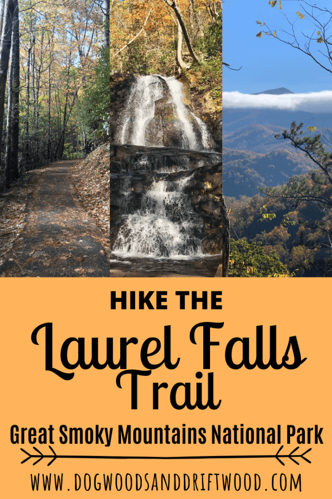 Hiking to laurel falls in the great smoky mountains national park, tennessee and north carolina