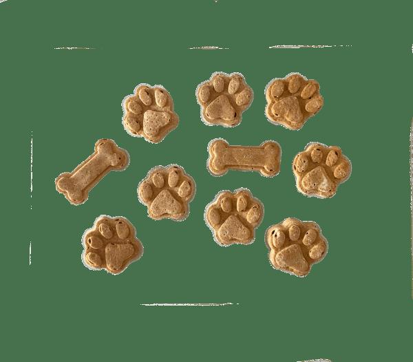 mini cake natural para perros