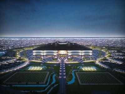 Former Al Bayt (Al Khor) Stadium rendering
