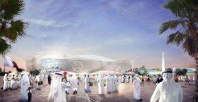 Al Rayyan stadium rendering