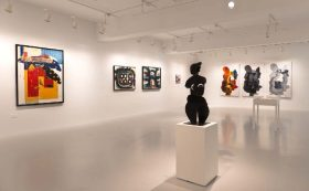 The exhibition at Mathaf