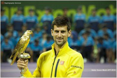 2016 tennis open winner Novak Djokovic
