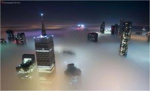 Foggy Qatar