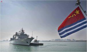 Chinese warships in Qatar